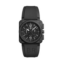 Bell & Ross BR 03-94 Chronographe Ceramic 42mm Black Arabic numerals United States of America, New Jersey, Princeton