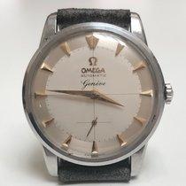 Omega Genève Steel 34,5mm Silver
