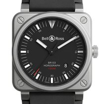 Bell & Ross BR 03-92 Steel Steel 42mm Black No numerals United States of America, New Jersey, Princeton