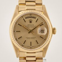 Rolex 18038 Yellow gold 1981 Day-Date 36 36mm pre-owned United States of America, California, Pleasant Hill