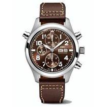 IWC Pilot Double Chronograph nuevo 2020 Automático Cronógrafo Reloj con estuche y documentos originales IW371808
