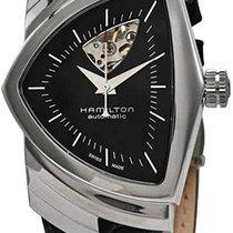 Hamilton Ventura Acier 34.7mm Noir Sans chiffres