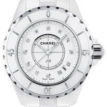 Chanel J12 Céramique 33mm Blanc Sans chiffres