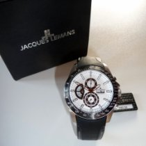 Jacques Lemans Sport Liverpool Steel 46mm White No numerals