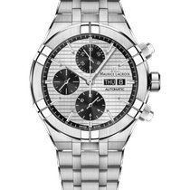 Maurice Lacroix Steel 44mm Chronograph AI6038-SS002-132-1 new