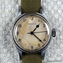 Longines pre-owned Manual winding 32mm Plexiglass Not water resistant