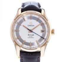 Omega De Ville Hour Vision Rose gold 41mm Silver United States of America, Georgia, Atlanta