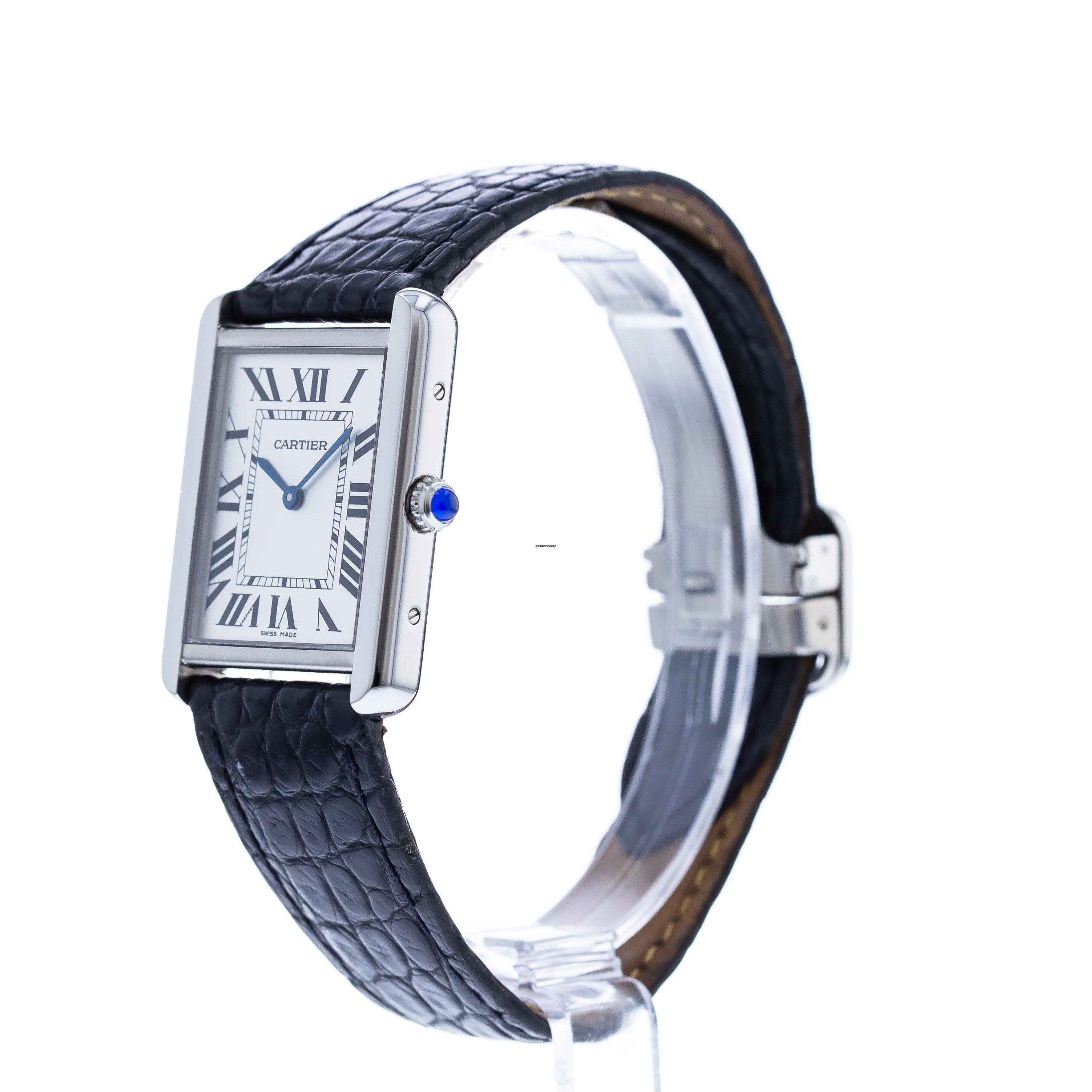 Cartier Tank Solo W1018355 Reloj de cuarzo para hombre