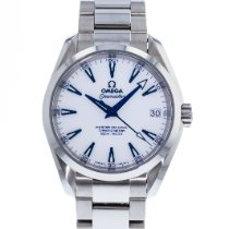 Omega Titanium Automatic White 38.5mm pre-owned Seamaster Aqua Terra