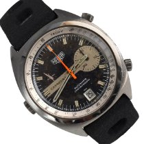Heuer Steel 39mm Automatic 1553 pre-owned