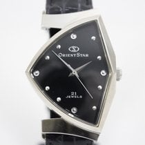 Orient Steel 28mm Manual winding 31A1451 pre-owned