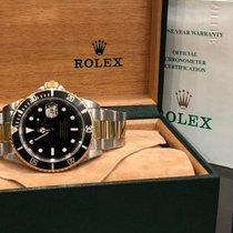 Rolex Submariner Date 16613 Очень хорошее Золото/Cталь 40mm Автоподзавод