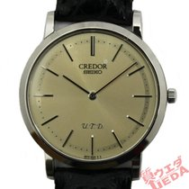 Seiko White gold 34mm Manual winding 6870-0010 pre-owned