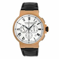 Ulysse Nardin Marine Chronograph new Automatic Chronograph Watch with original box 1506-150