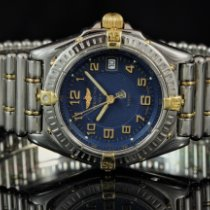 Breitling Wings Lady Steel Blue Arabic numerals