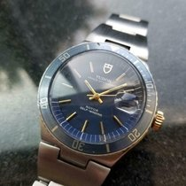 Tudor Prince Oysterdate Steel 37mm Blue United States of America, California, Beverly Hills