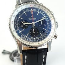 Breitling Navitimer 1 B01 Chronograph 43 Steel 43mm Blue No numerals