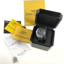 Breitling Chronomat Evolution begagnad 44mm Grå Kronograf Datum Stål