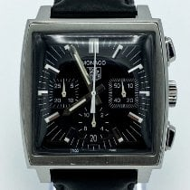 TAG Heuer Monaco CW2111-0 Good Steel 38mm Automatic