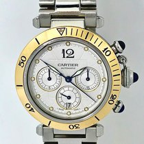 Cartier Zlato/Ocel 38mm Automatika 2113 použité