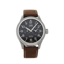 Oris Big Crown ProPilot Worldtimer Steel 44.6mm Grey Arabic numerals
