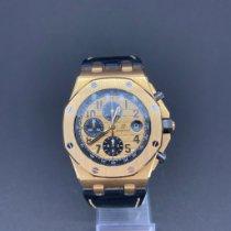 Audemars Piguet Royal Oak Offshore Chronograph Roségoud 42mm Goud Arabisch