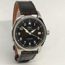 IWC Pilot's Watch Automatic 36 Staal 36mm Bruin Arabisch