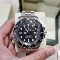 Rolex Sea-Dweller Deepsea Steel 44mm Black No numerals United States of America, New Jersey, Upper Saddle River
