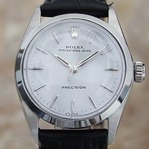 Rolex Oyster Precision Steel 30mm White