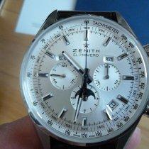 Zenith El Primero 410 Çelik 42mm Gümüş Rakamsız