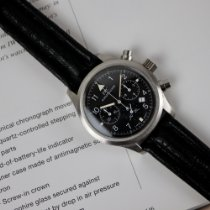 IWC Pilot Chronograph IW3741 Meget god Stål 36mm Kvarts Danmark, Frederiksberg