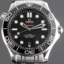 Omega Seamaster Diver 300 M neu 2020 Automatik Uhr mit Original-Box und Original-Papieren 210.30.42.20.01.001