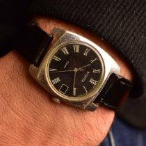 東方牌 鋼 35mm 手動發條 Black Minimalist Soviet Watch 二手