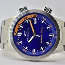 IWC Aquatimer Automatic Stahl 42mm Blau Keine Ziffern Deutschland, Iffezheim