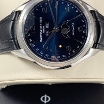 Baume & Mercier Clifton M0A10057 Unworn Steel 43mm Automatic United States of America, Connecticut, Danbury