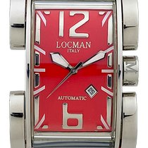Locman Latin Lover Steel 32mm Red Arabic numerals United States of America, New York, New York