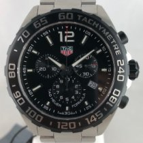TAG Heuer Formula 1 Quarz Stahl 43mm Schwarz Arabisch
