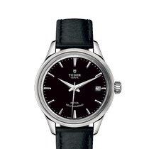 Tudor Style Acier 34mm Noir
