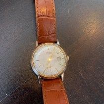 Prim Yellow gold 34mm Manual winding pre-owned