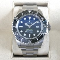 Rolex Sea-Dweller Deepsea Otel 44mm Albastru Fara cifre