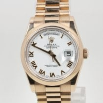 Rolex Day-Date 36 Oro rosa 36mm Blanco
