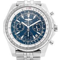 Breitling Bentley Motors neu Automatik Chronograph Uhr mit Original-Box und Original-Papieren A25363