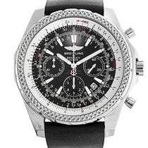 Breitling Bentley Motors neu Automatik Chronograph Uhr mit Original-Box und Original-Papieren A25362