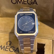 Omega Constellation Quartz Gold/Steel Black United States of America, Florida, Miami