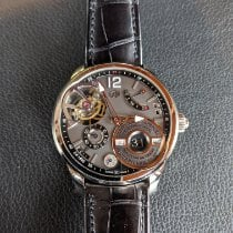 Greubel Forsey quantième perpétuel à équation VERY RARE 6 of 8 Very good White gold Manual winding