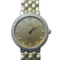 Omega De Ville Ladymatic Yellow gold 24mm Champagne No numerals United States of America, New York, Greenvale