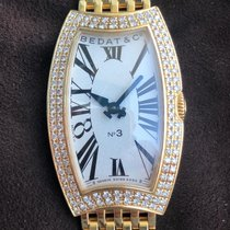Bedat & Co Yellow gold 22mm Quartz 384.333.600 pre-owned