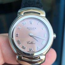 Rolex Cellini Weißgold 26mm Pink Römisch