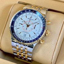 Breitling Montbrillant Légende new Automatic Chronograph Watch with original box and original papers C2334024/G637