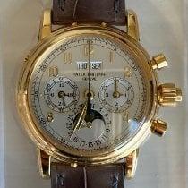 Patek Philippe Yellow gold 37mm new Perpetual Calendar Chronograph